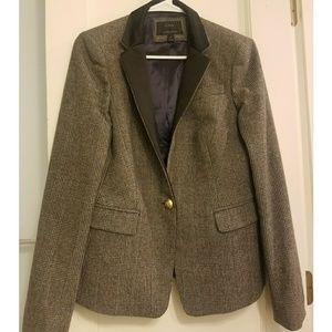 J. Crew Regent Blazer Tweed Wool Jacket